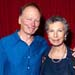 John Bell winner of Lifetime Achievement Award with Anna Volska