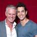 Michael Cormick & Adam Garcia at Sydney Theatre Awards photo by Kurt Sneddon (3)