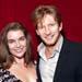 Pippa Grandison and David Wenham