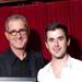 Rodney Rigby with Bobby Fox at Sydney Theatre Awards