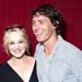 Susie Porter with husband Chris Mordue at Sydney Theatre Awards